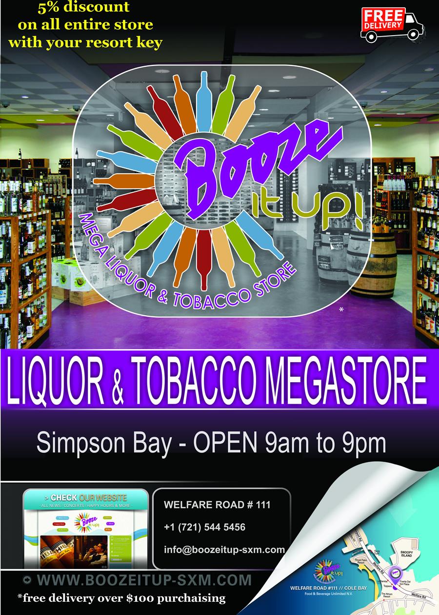 Booze it Up! St. Maarten