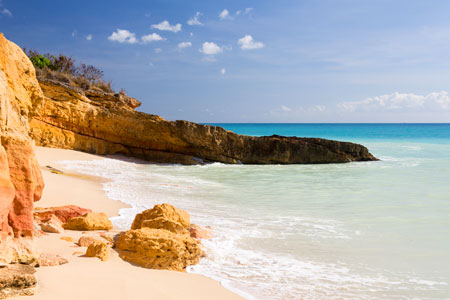 Cupecoy beach
