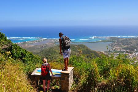 Exploring the island of St. Maarten