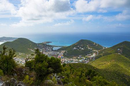Geography of Sint Maarten