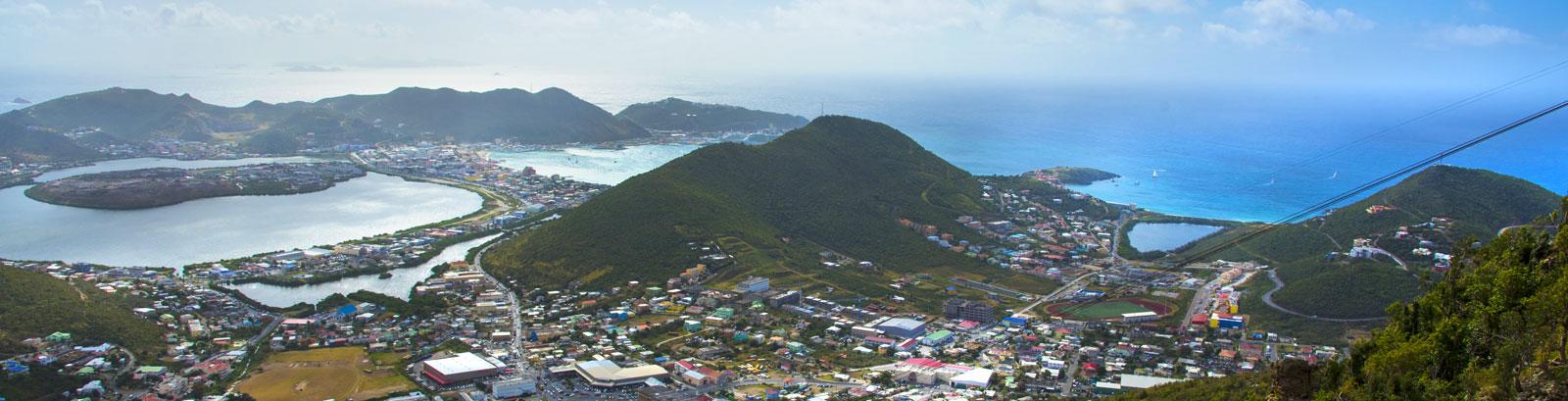 Geography of St. Maarten, Simpson Bay Resort, Marina & Spa