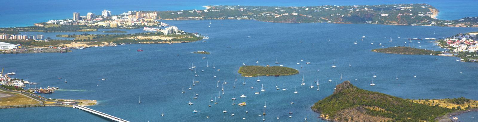 Location Map of Simpson Bay Resort & Marina in St. Maarten