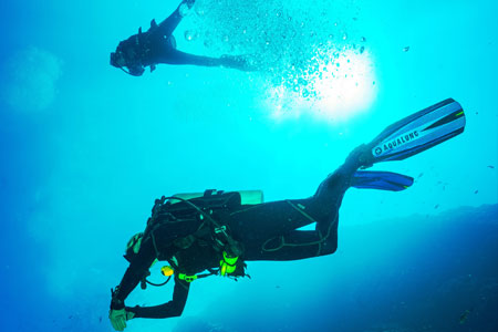 Diving in St. Maarten