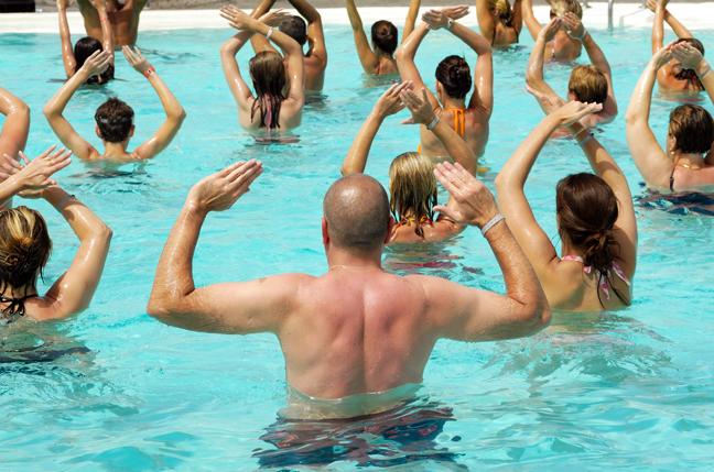 simpson bay resort aquaerobics
