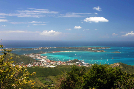 Geography of Sint Maarten