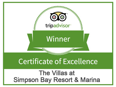 Simpson Bay Resort & Marina Tripadvisor Award