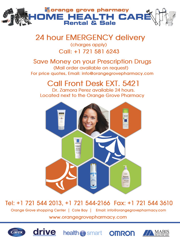 Orange Grove Pharmacy, St. Maarten