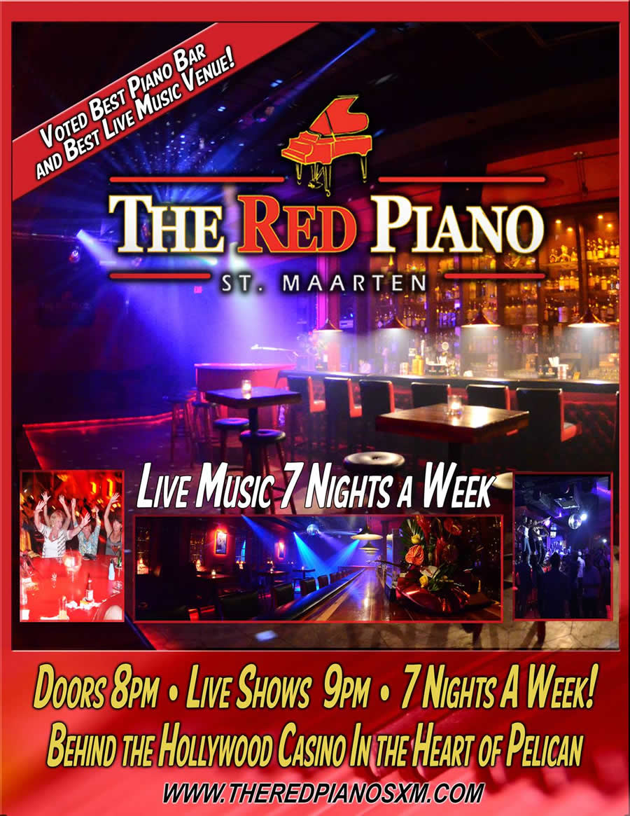 Red Piano Bar, St. Maarten
