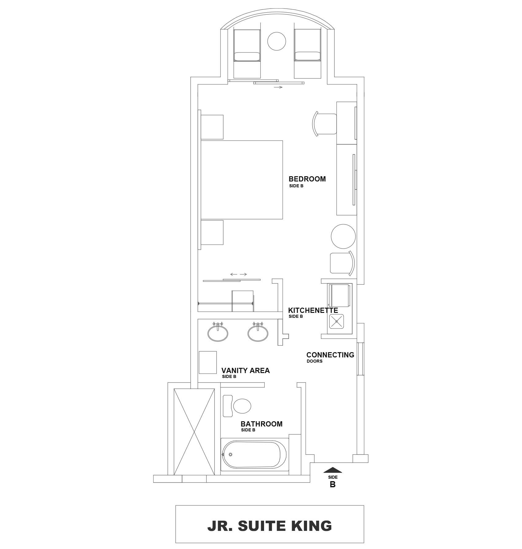 The Villas at Simpson Bay Resort - Floor Plan