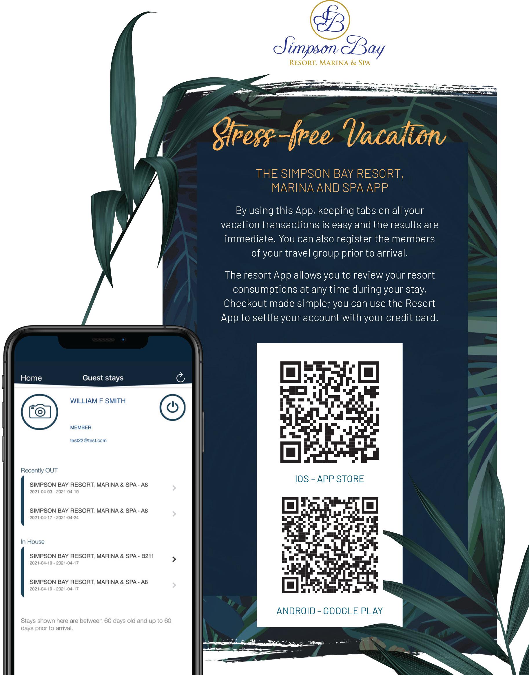 Simpson Bay Resort, Marina & Spa goes mobile